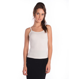 Bombay High Viscose White Slim T-Shirt