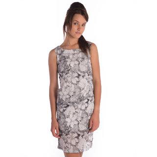 Bombay High Cotton Grey Slim Dress