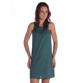 Bombay High Cotton Green Regular Dress