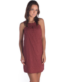 Bombay High Cotton Red Regular Dress