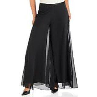 Plazo Pants  In BLACK Color