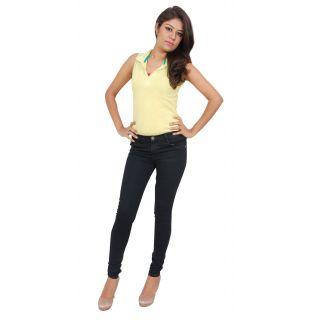 Black Slim Fit Denim Jeans