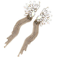 Young & Forever Glamarous Vintage Exaggerated Tassel Earrings For Women