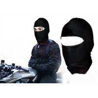 Stretchable Balaclava Face Mask - Black Colour