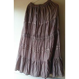YOUnique : Long Skirt Unique Color