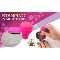 NAIL ART COMBO (NAIL ART STAMPING + NAIL ART DECORATION)