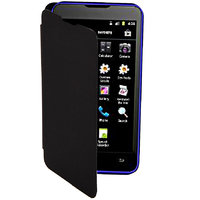 Koloredge Flipcover For Micromax Canvas Viva A72 - Black