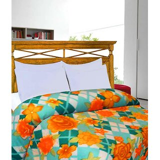 Printed Double Bed Ac Blanket Cum Bed Sheet