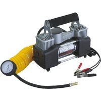Heavy Duty Metal Portable Electric Air Compressor/Tyre Inflator For Cars Bikes
