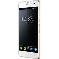 Micromax Canvas Knight A350 (White & Gold)