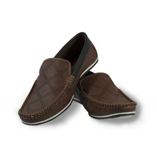 Stylox Brown Loafer Shoes