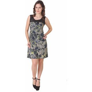 NOD Hazel Green Geo Print Dress