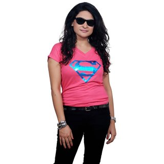 Golden Couture Super-Girl Pink Top