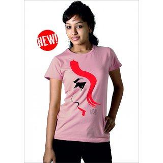 Longtees Gun Women - LT - AW14 Light Pink For Women