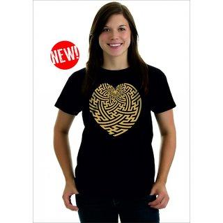Longtees Maize Heart - LT - AW14 Black For Women