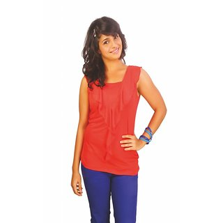 Western Top Amy Dark Coral For Women