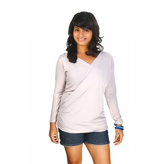Western Top Julian Light Grey For Women