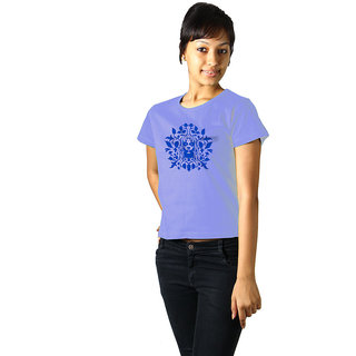 Regular Tees Acid Queen (TW) Light Blue For Women