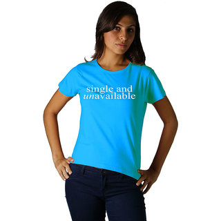 Regular Tees Single & Unavailable  (TW) Turquoise For Women