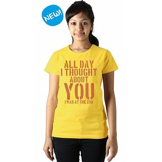 Loose Motion Zoo / All Day - (TW LOMO) Yellow For Women
