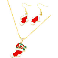 Young & Forever Christmas Boots Jewelry Sets For Women By Crazeemania