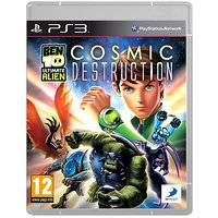 Ben 10 Cosmic Ultimate Alien Destruction Ps3