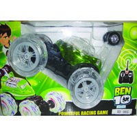 Ben 10 Remote Control Car (Radio Control) - Powerful Racing Game - Music  Light [CLONE]