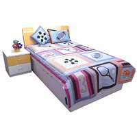Kids Bedding Set SC-0001 Multicolor Set Of 4 Pieces