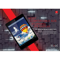 """New IBall Slide 7803 Q-900 Quad Core Duel 3G 7.8"""" Tablet 1GB,16gb,5MP 4.2 Jelly"""