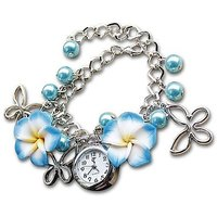 Festival 2014 Special: GirlZ! Blossom Blue Flower Bracelet With Watch