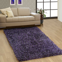 Shaggy Carpet SHIMMER-Purple (80 x 150cm)