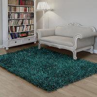 Shaggy Carpet SHIMMER-Teal (80 x 150cm)