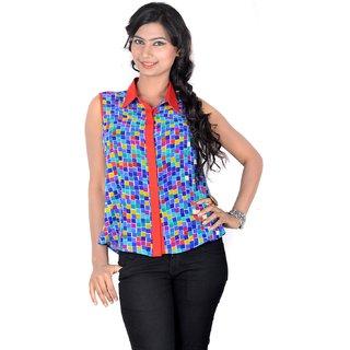 Vivaa Stylish Printed Ladies Shirt VGS-04