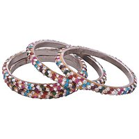 "Aakshi ""Beautiful Colours Of The World 4-PC Bangle Set"