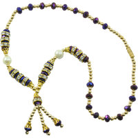 """Aakshi Necklace  """"Multicolour With White Pearl  Necklace"""""""