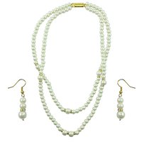 "Aakshi Necklace Set""Symbol Of Beauty "" Pearl Necklace Set"