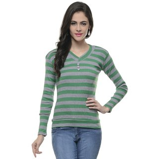 Lavennder Lycra T Shirt Free Size Fit S To L 5809