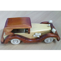 Wooden Car For Gift Decorative Items Eco-friendly Classic Handcrafted Toy Car