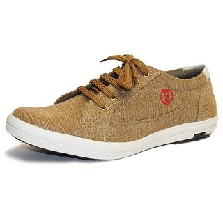 Guava Brown Casual Lace Up Shoes