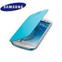 Samsung Galaxy Note II N7100/N7108 Flip Cover - Blue