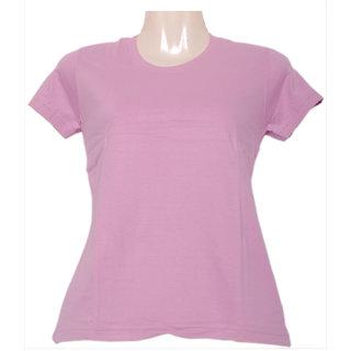 Fruit Of The Loom Ladies Crew Tee Tshirt LCRWOCZ_Pink