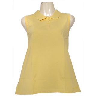Fruit Of The Loom Ladies Sleeveless Polo Tshirt - LSLPPCZ