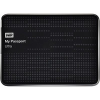 WD My Passport Ultra 2.5 Inch 1 TB External Hard Drive (Black)