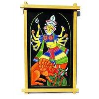 Sanatan Collection Maa Durga Wall Hanging With Frame