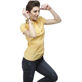Girl's Mango Formal Shirt With Swarovski Crystal Logo
