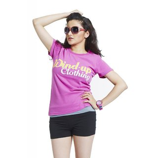 Masculino Latino Pink  Lady Fashion T-shirt (MLT1010A)