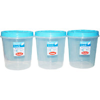 CHETAN 3 PC 10 LTR TWIST LOCK CONTAINER @ RS.929.00 DELIVERY FREE