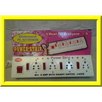 6 AMP With Power, Extension Cord Board