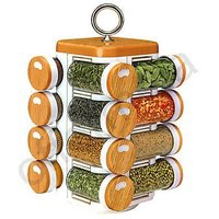 Spice Jars, Multipurpose, Compact,16 In One, Rotating, Kitchen Spice Jar(JVS)