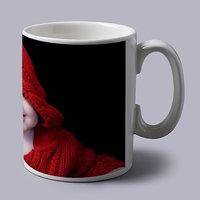 Cute Baby In Red Coffee Mug-MG1070